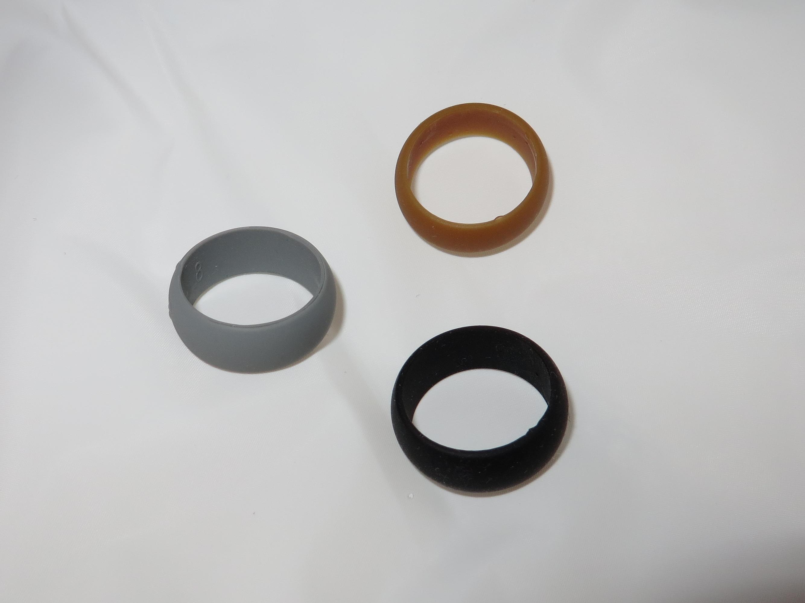 Non Conductive Weding Rings 013 - Non Conductive Weding Rings